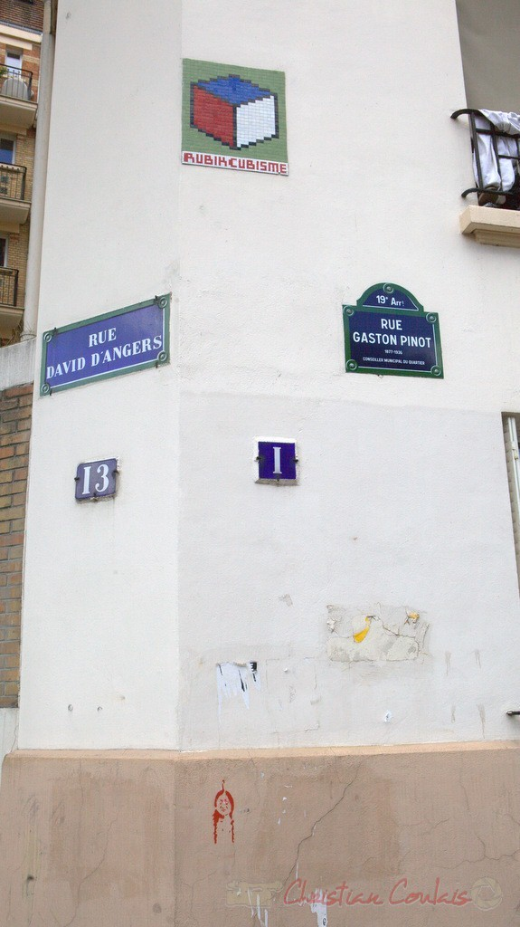 Rue David-d'Angers / Rue Gaston Pinot, Pairs 19ème