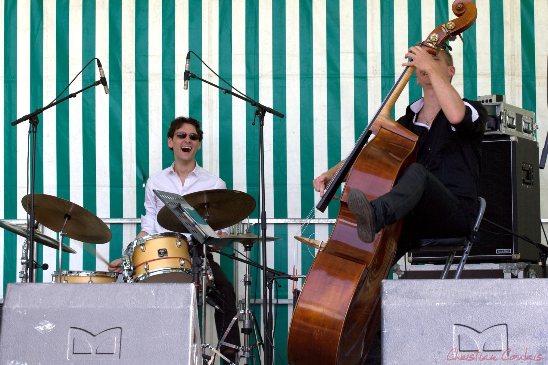 Festival JAZZ360 2014, Thomas Mayeras Trio, Cénac