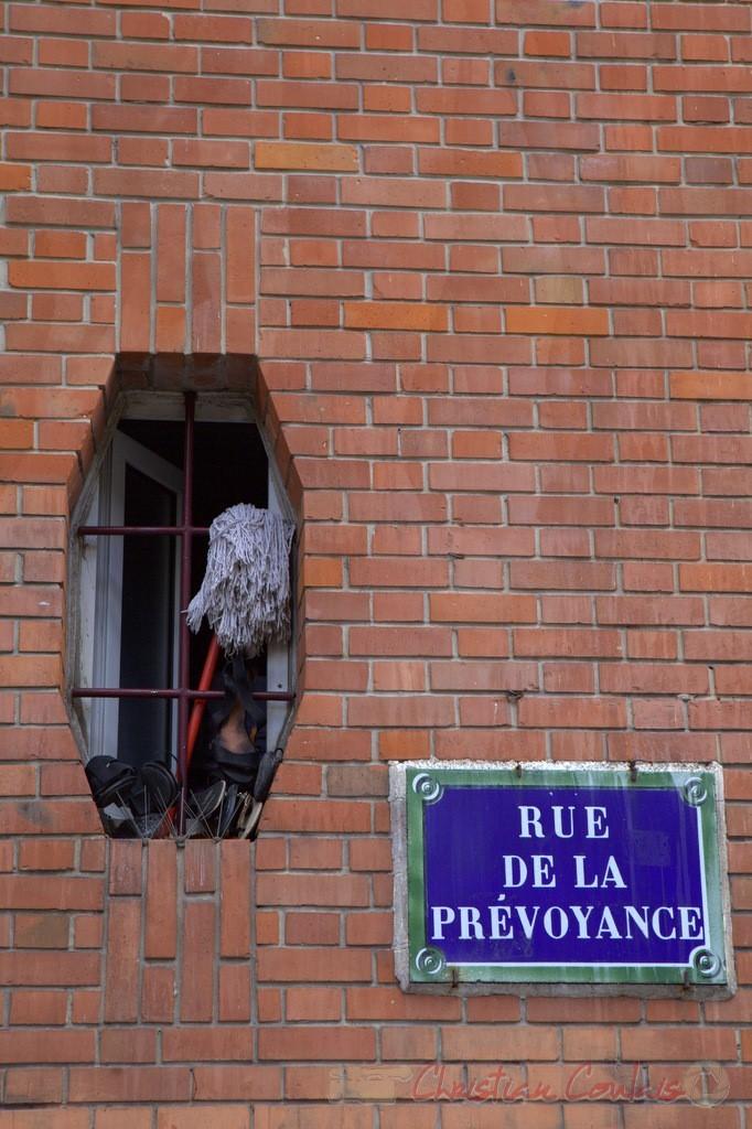 Rue de la Prévoyance, Paris 19ème
