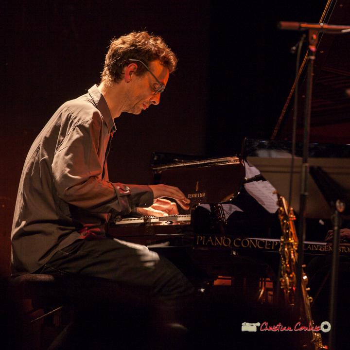 1 Pierre de Bethmann, pianiste & compositeur. Festival JAZZ360 2019, Cénac. 07/06/2019