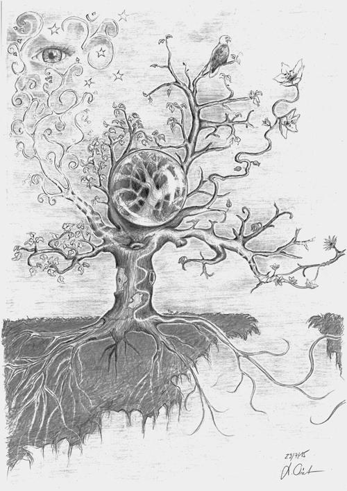 Lebensbaum 2015 A3