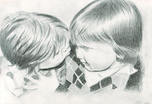 mein Bruder und ich A4
