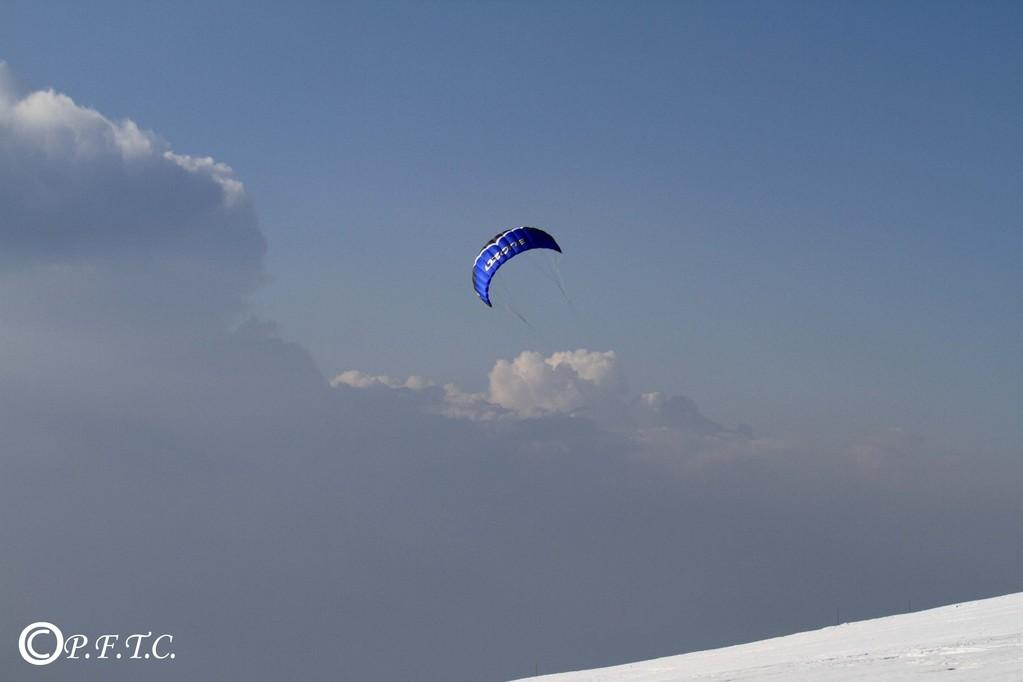 Kite surf au Semnoz