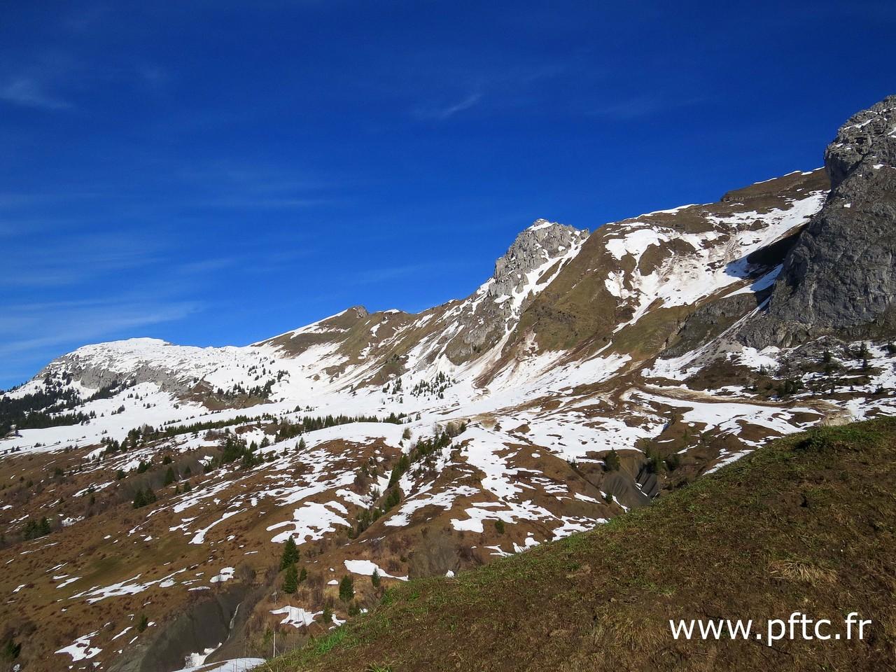 Le mont Jalouvre