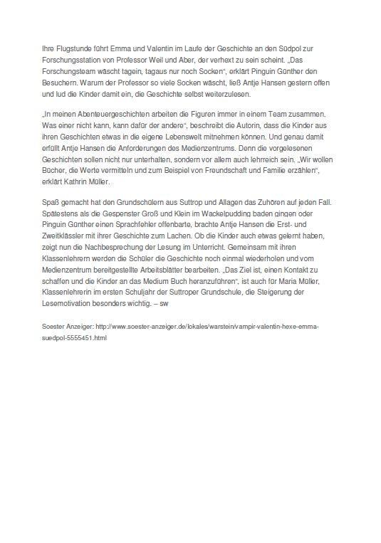 Soester Anzeiger 2 - September 2015