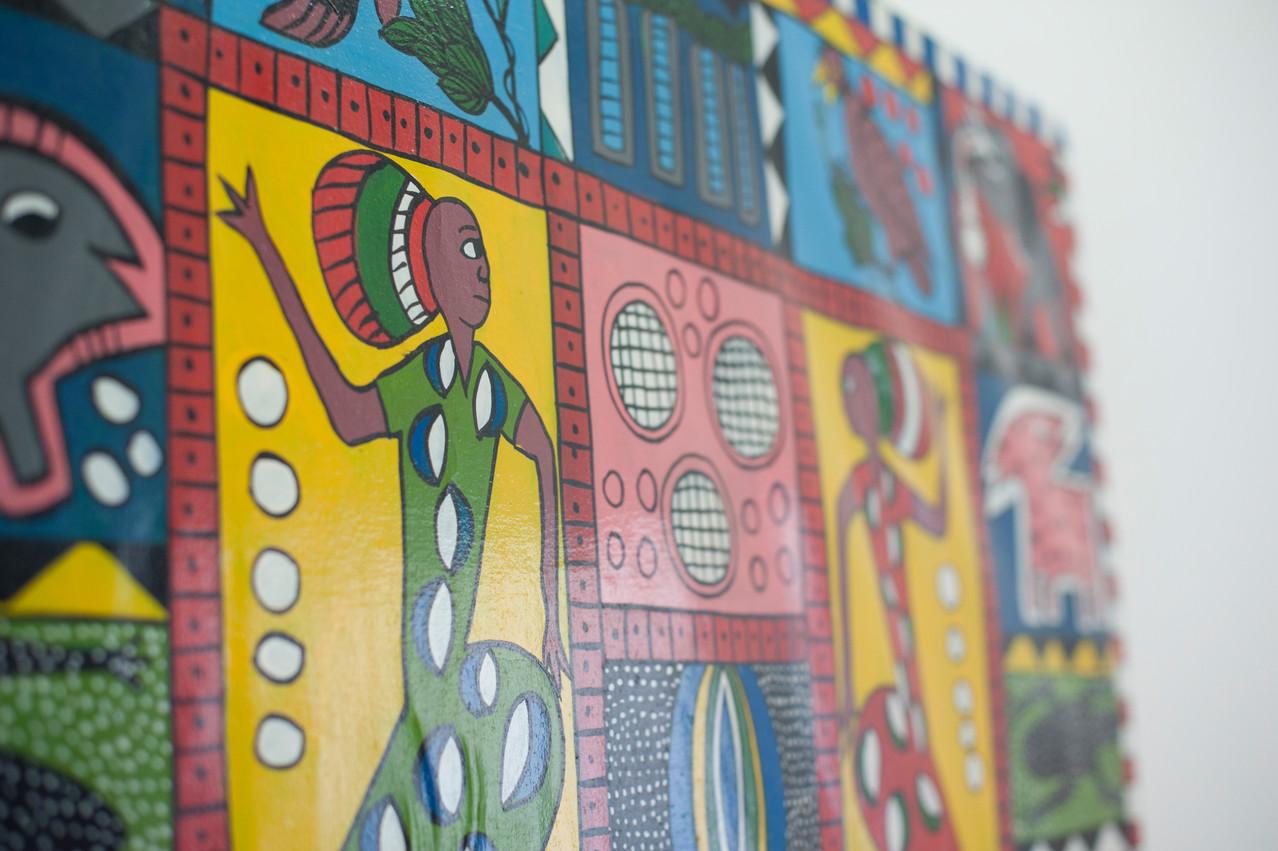 Afrikanische Kunst, Zahnarztpraxis Dr. Reinhardt, Fürth