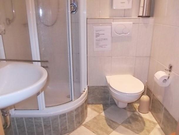 Dusche /WC in Wohnung 3