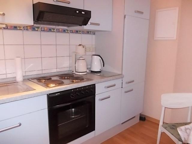Küchenzeile in Wohnung 3 (Parterre)