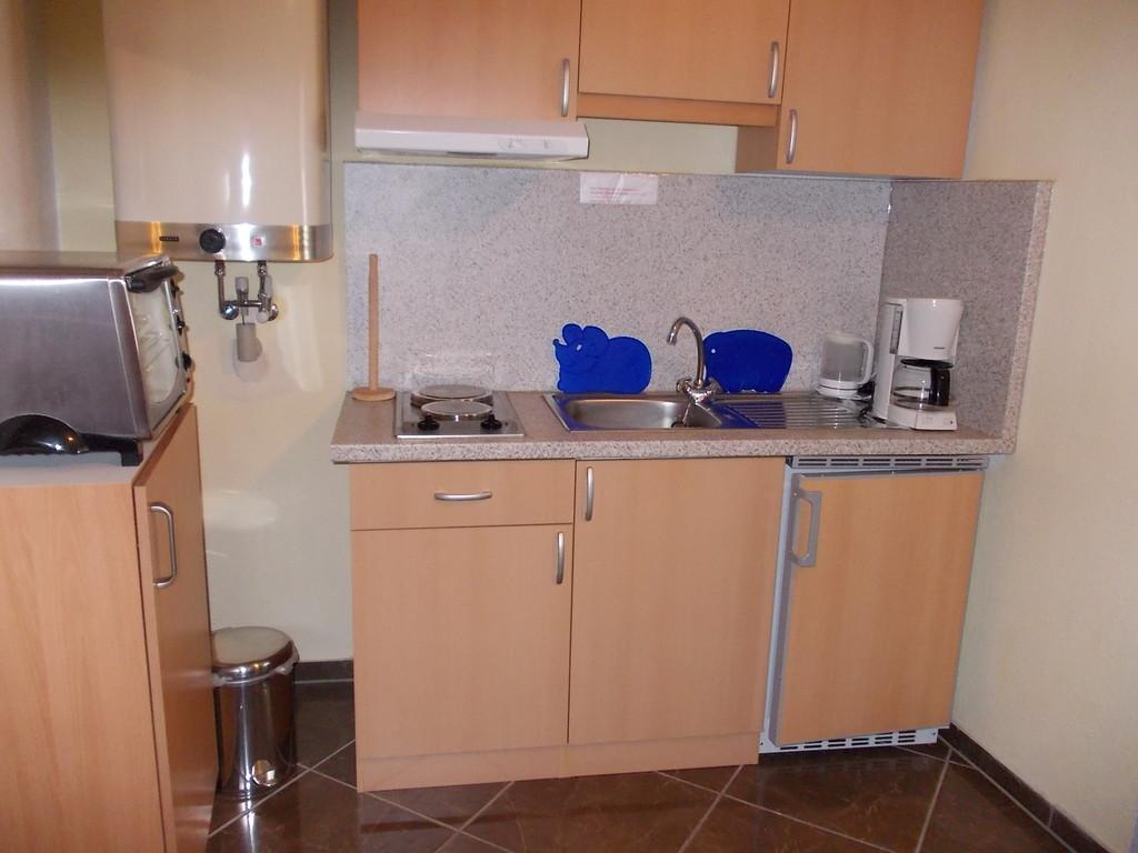 neu eingerichtete Küche in FW 1