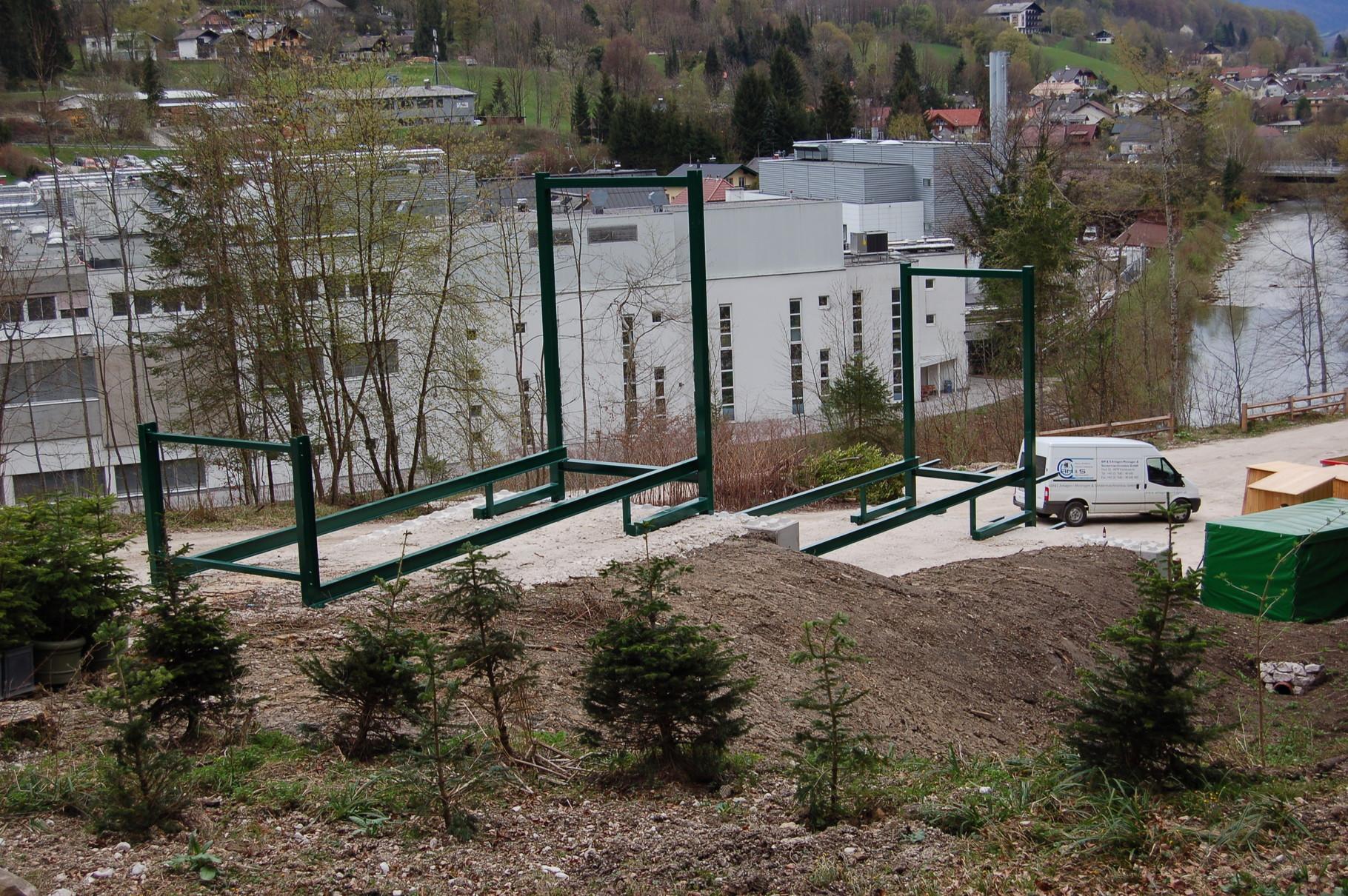 Individuelle Lösung zur Lagerung von Biomasse