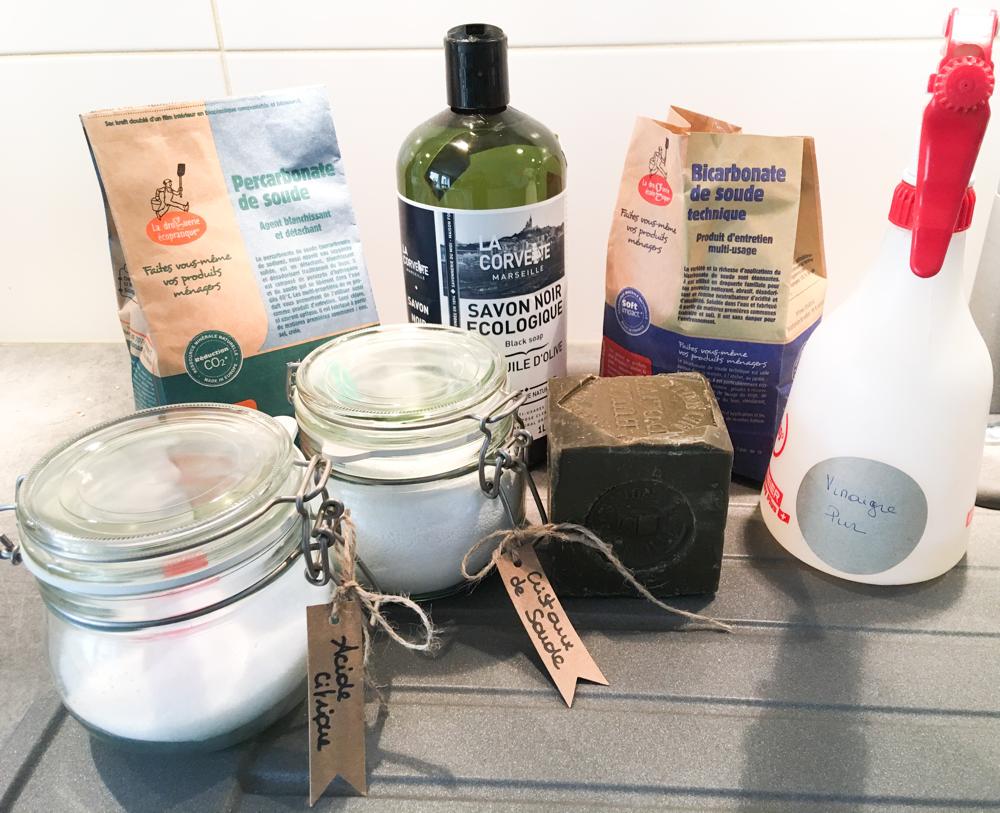 Fabriquer Nettoyant Lave Vaisselle produits d'entretien zéro déchet: petit guide pour commencer