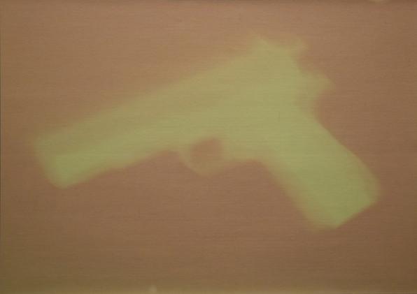 "Gun V aus ""Fade out"" - Originalzustand nach Belichtung"