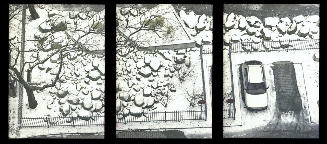 """""""Winter von Oben"""", Berlin"""