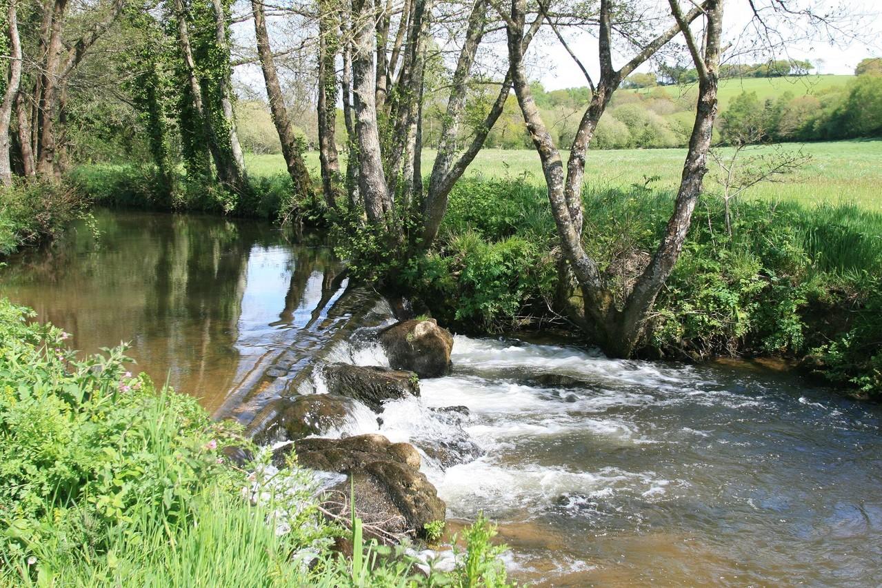 la rivière la Mignonne ©moulindebeuzidou