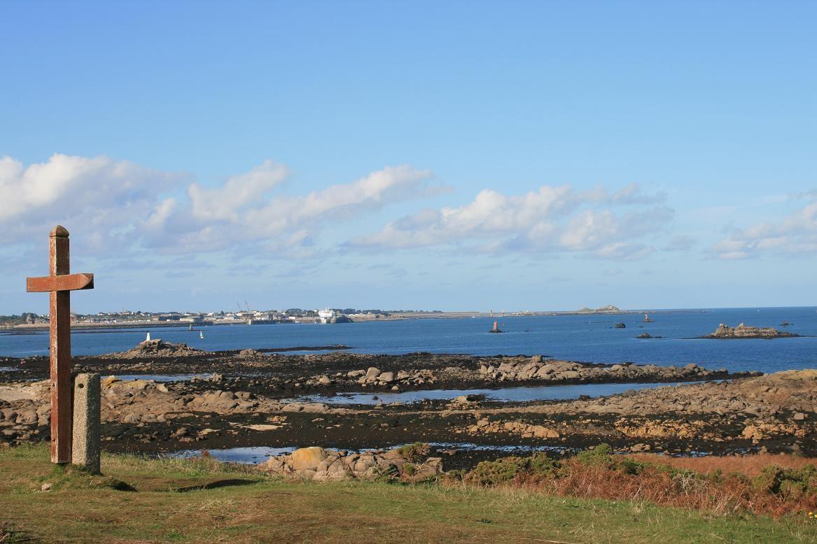 Le bout de l'île Callot en baie de Morlaix©moulindebeuzidou