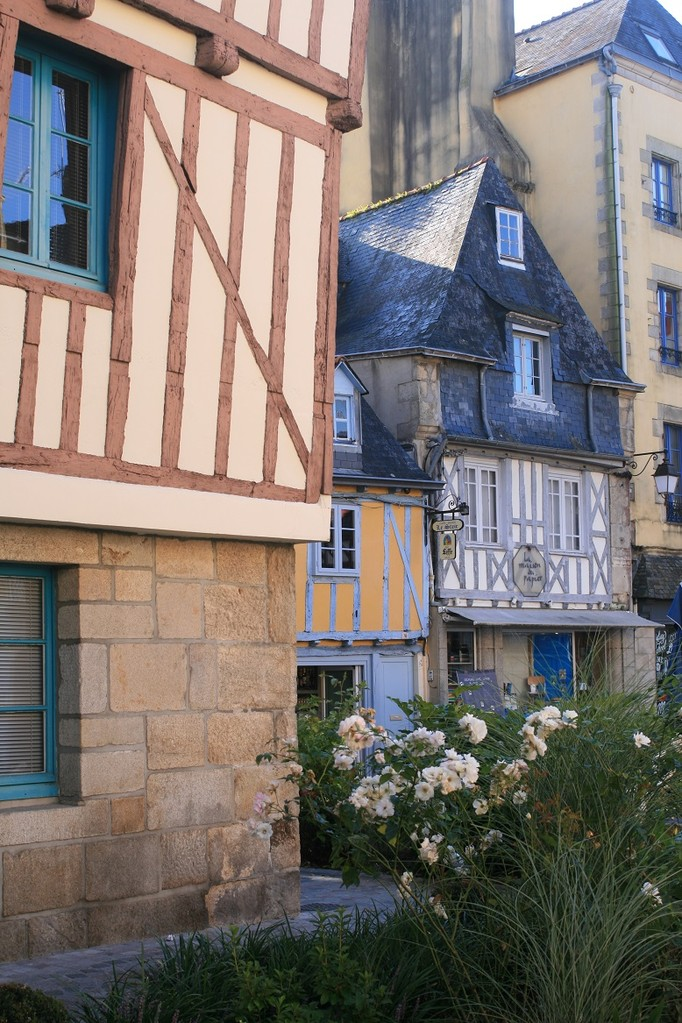 Quimper, maisons à colombages©moulindebeuzidou