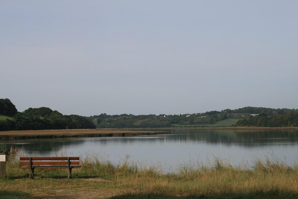 La rivière de Daoulas, où se jette la Mignonne©moulindebeuzidou