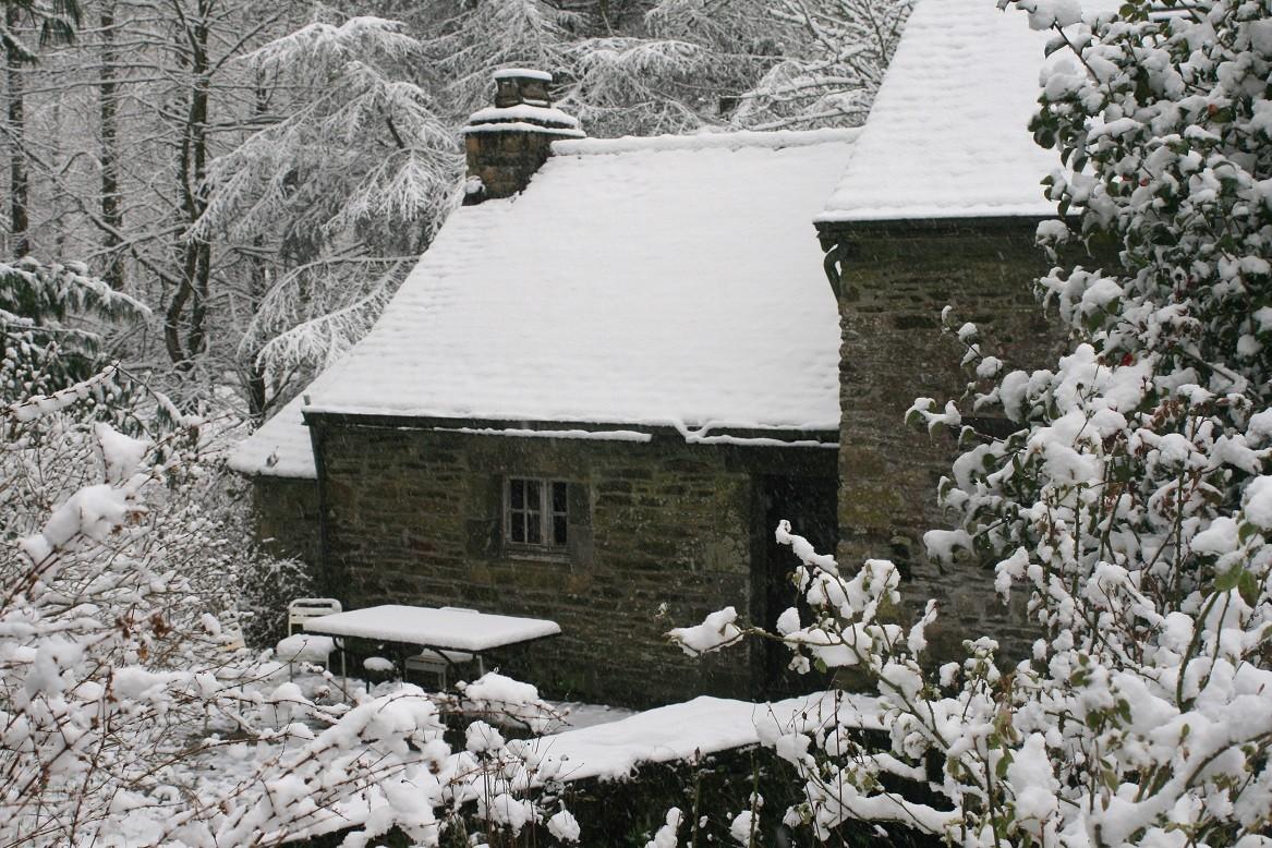 Spectaculaire, la neige ne dure jamais longtemps©moulindebeuzidou
