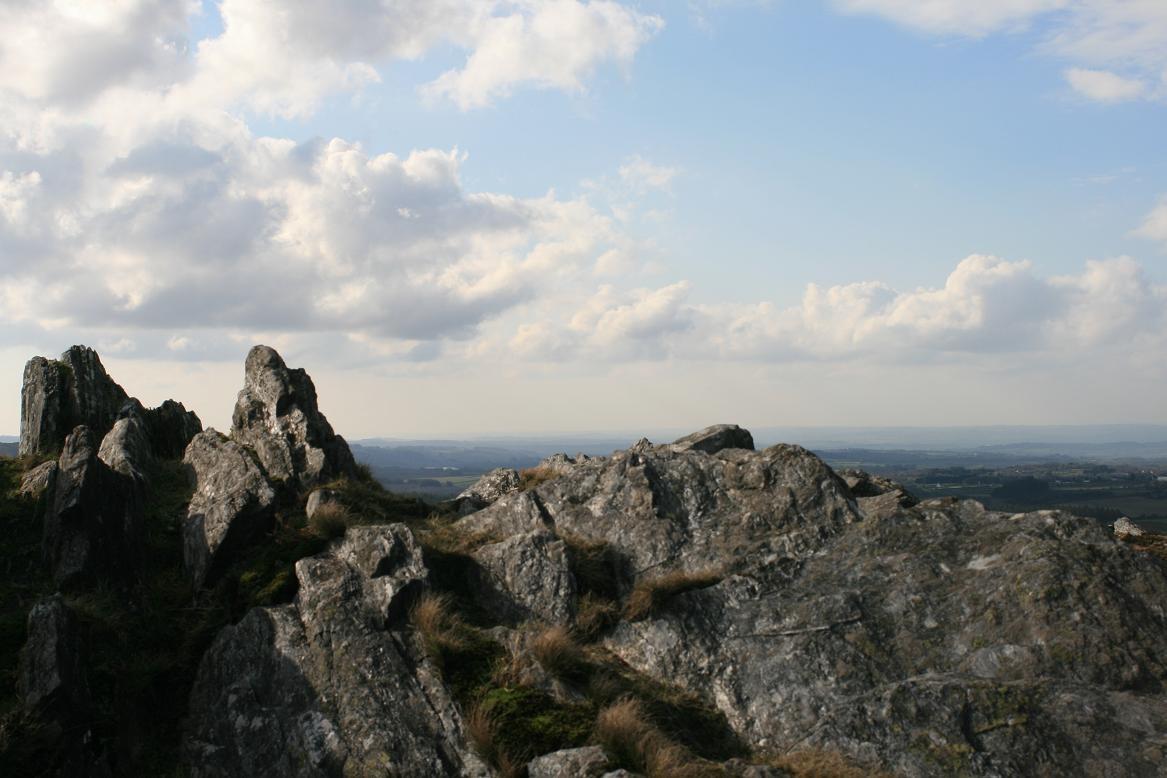 Landscape of the Arrée Monts ©moulindebeuzidou