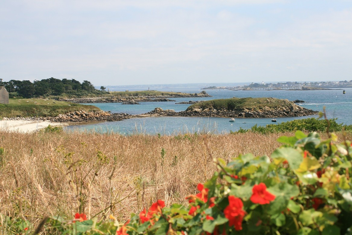 Roscoff view from Batz island ©moulindebeuzidou