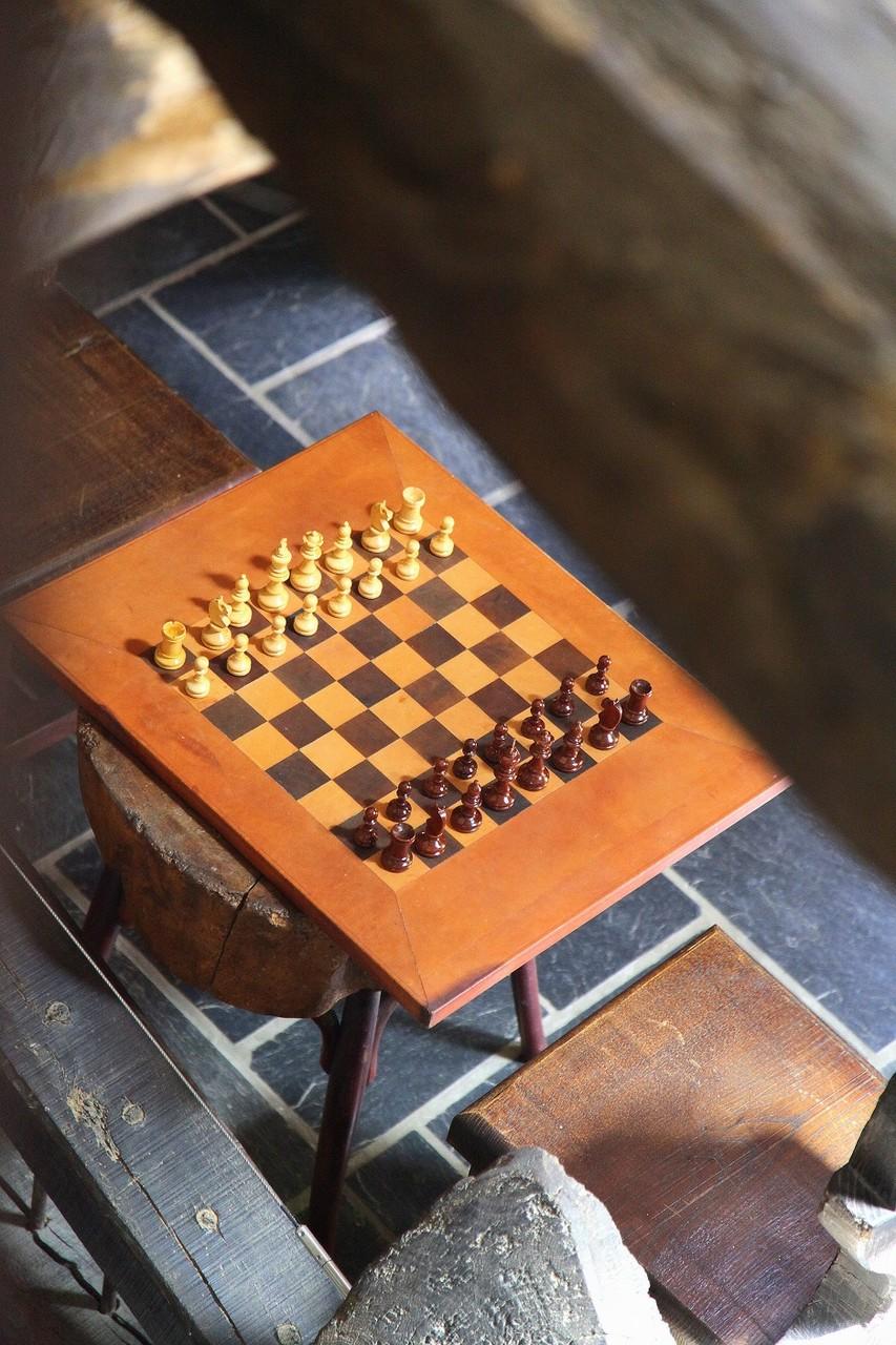 En plus des échecs, vous trouverez quelques autres jeux de société©moulindebeuzidou