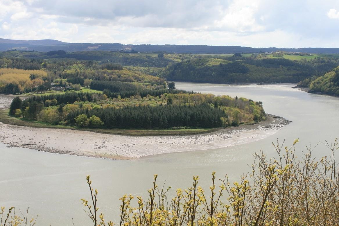 The Aulne river, near Landévennec ©moulindebeuzidou