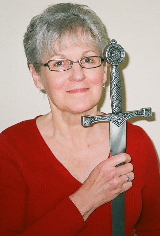This sword features in my book KING ARTHUR'S RANSOM.