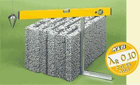 Verarbeitung von Plansteinen im Mauerwerksbau