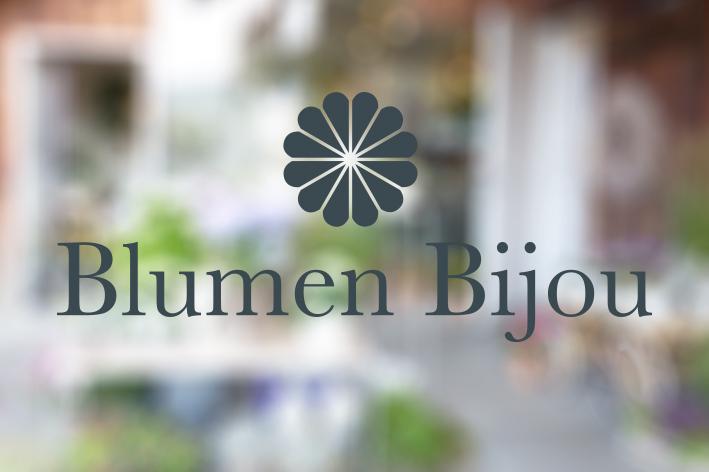 Logodesign Blumen Bijou Hinterkappelen