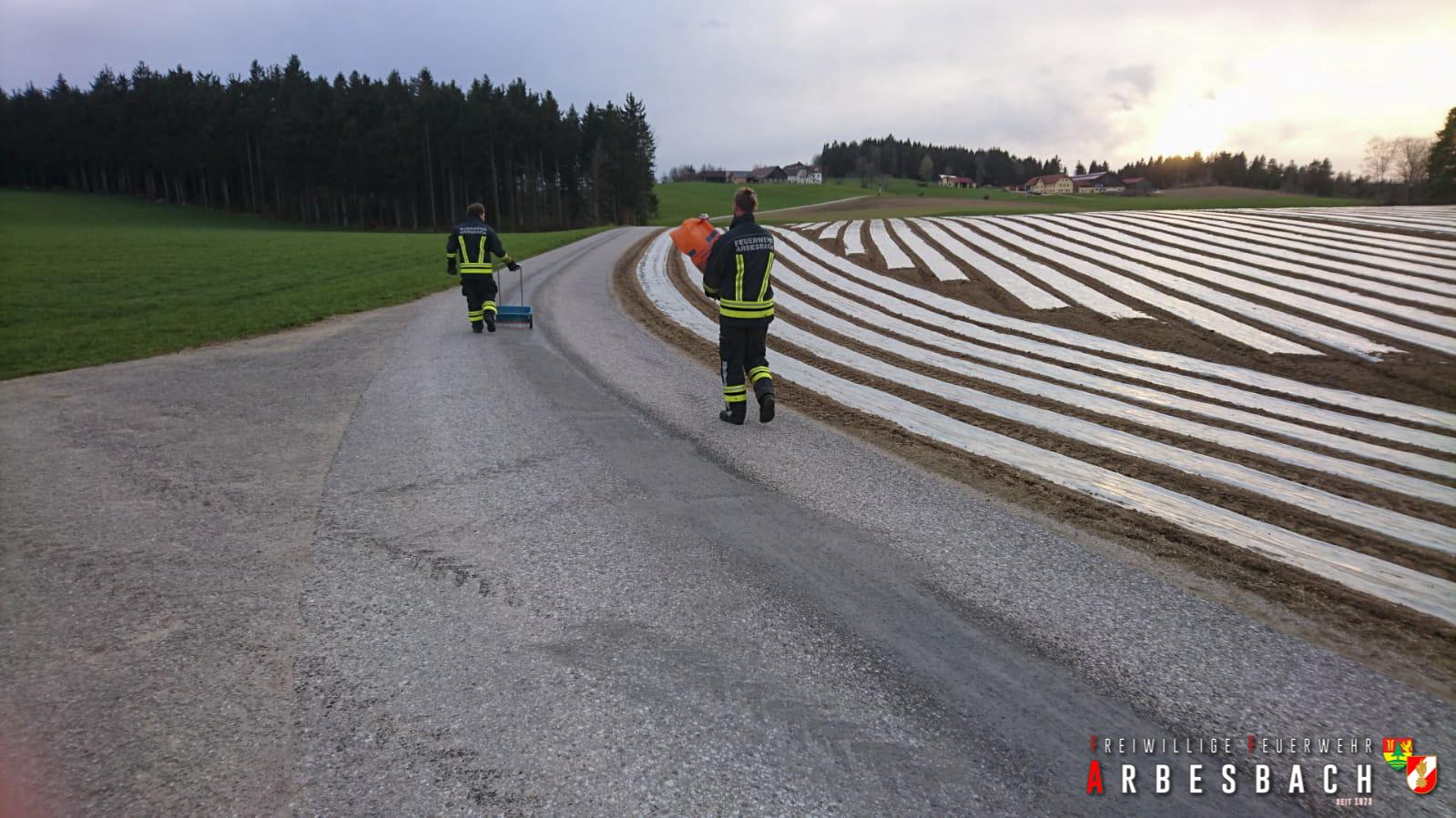 350 Meter Ölspur - Rammelhof | 04.05.2021