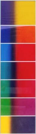 Nr.051  1994  7 Kunstdrucke  2-farbige Iris-Offsetdrucke auf Papier  200 x 44 cm