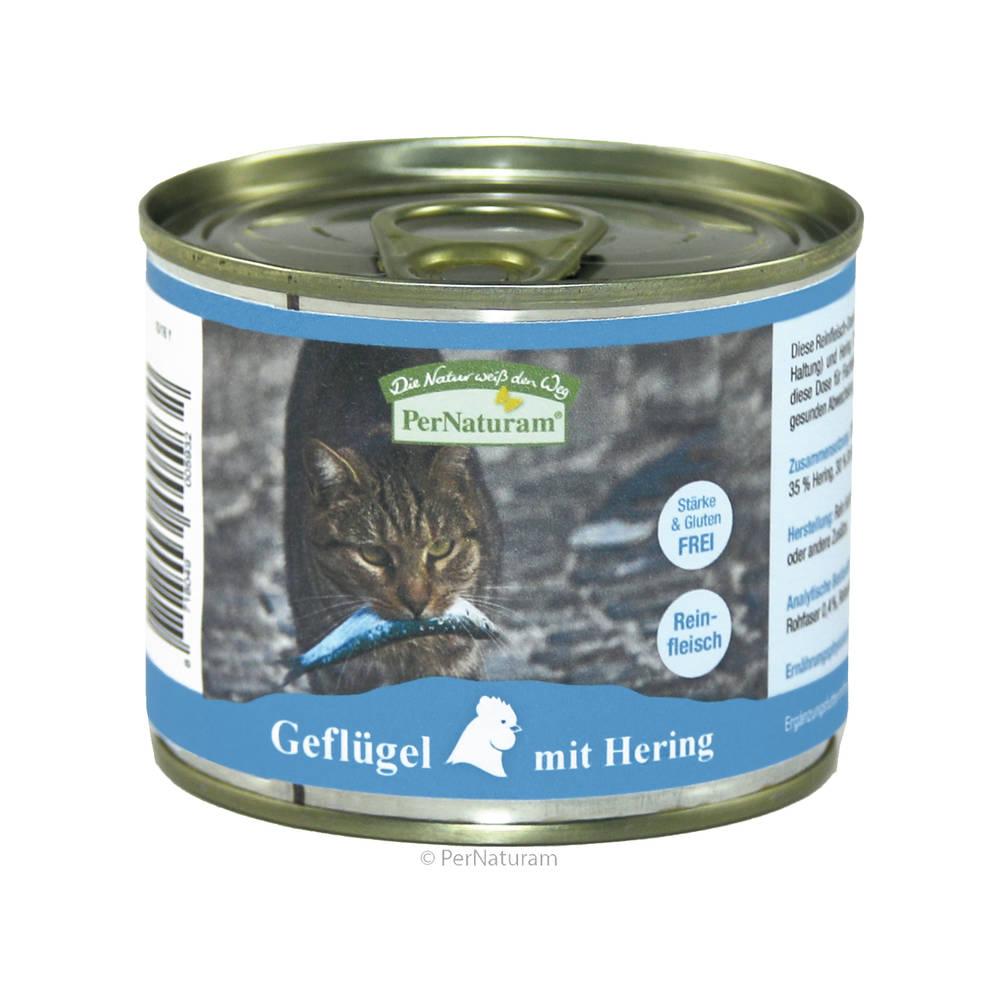 Katzen-Fleischdosen PerNaturam