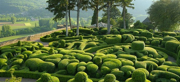 Les Jardins de Marqueyssac (Vézac) - Plus d'informations : http://marqueyssac.com/