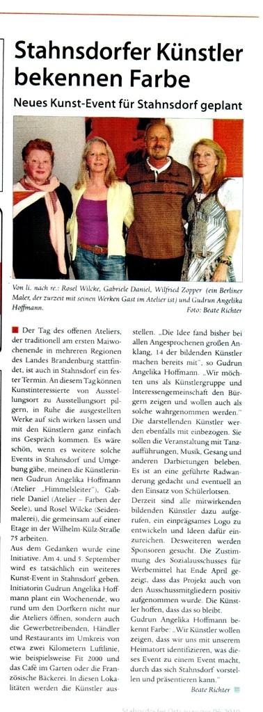 Stahnsdorfer Ortsanzeiger, Juli 2010