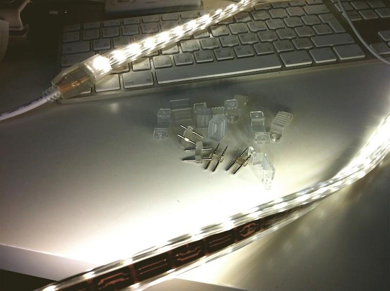 комплектующие светодиодной ленты 220В