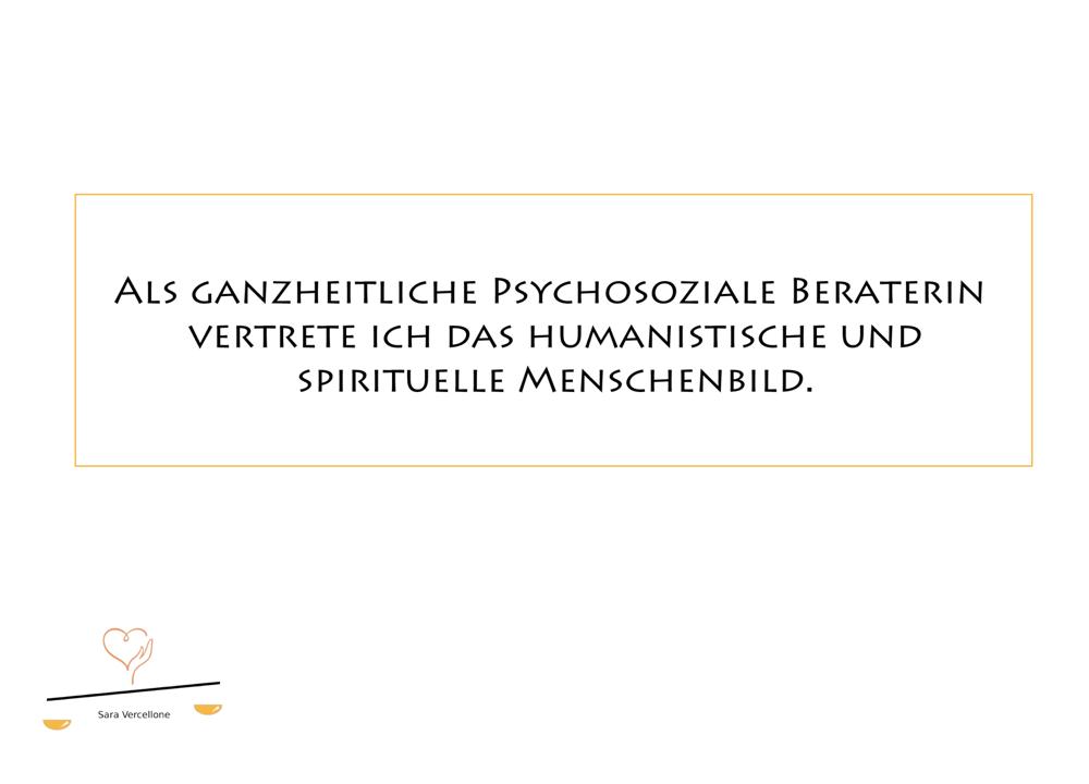 Ganzheitliche Psychosoziale Beratung Sara Vercellone - Blog Grundhaltungen