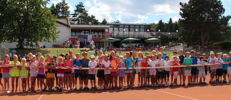 Siegerehrung beim Nationalen Deutschen Jüngsten-Tennisturnier 2013