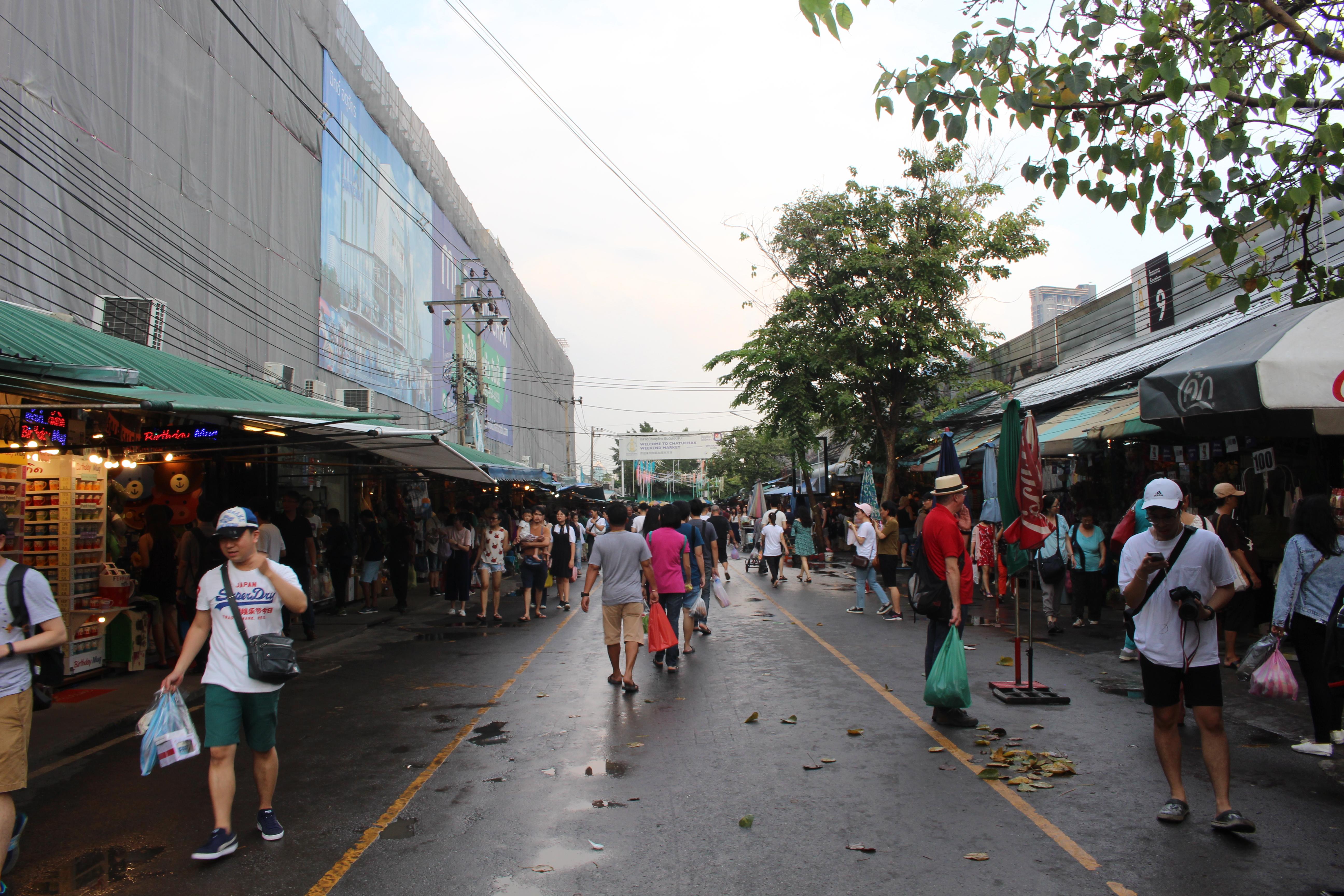 Marché de Chatuchak, Bangkok.
