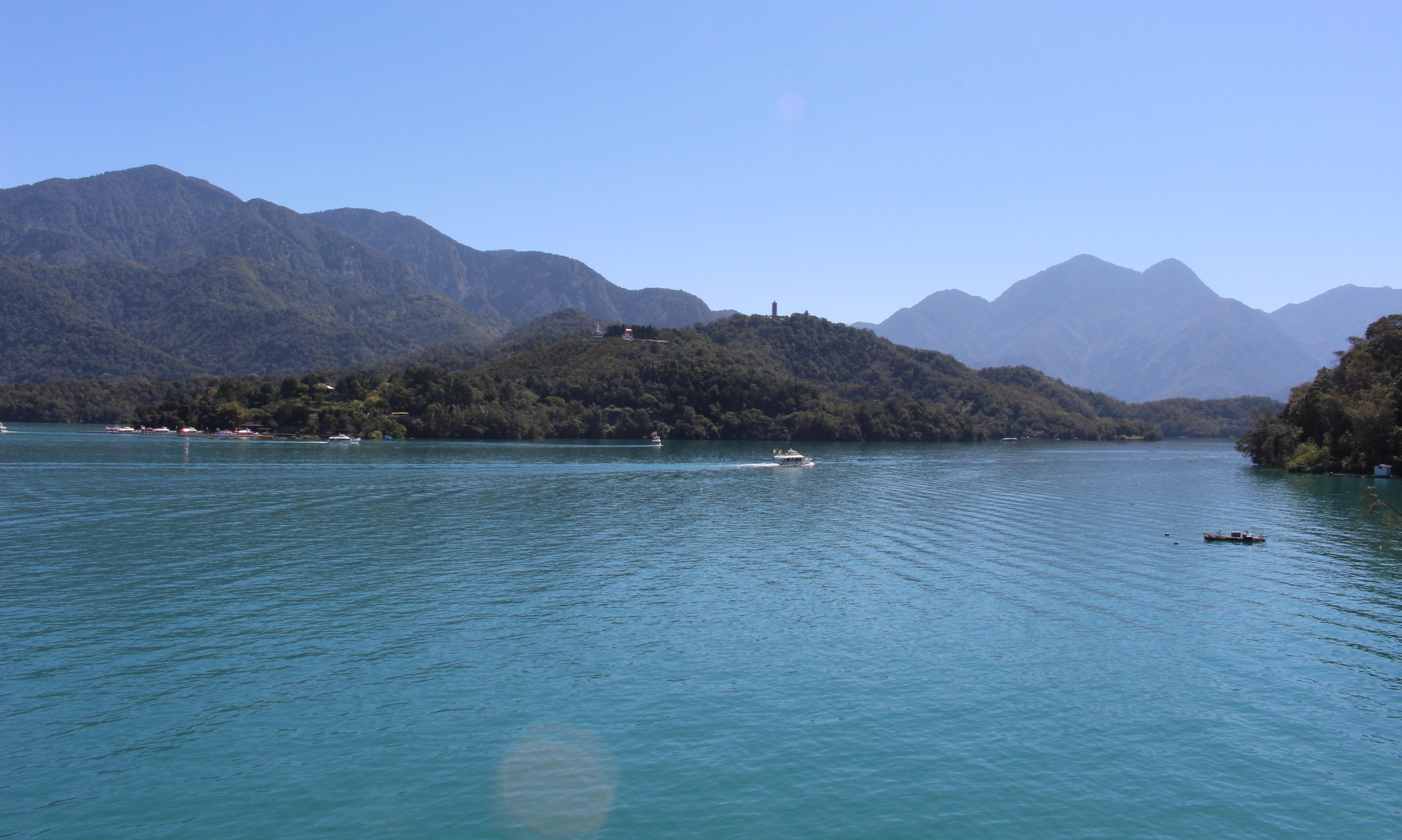 Sun Moon Lake.