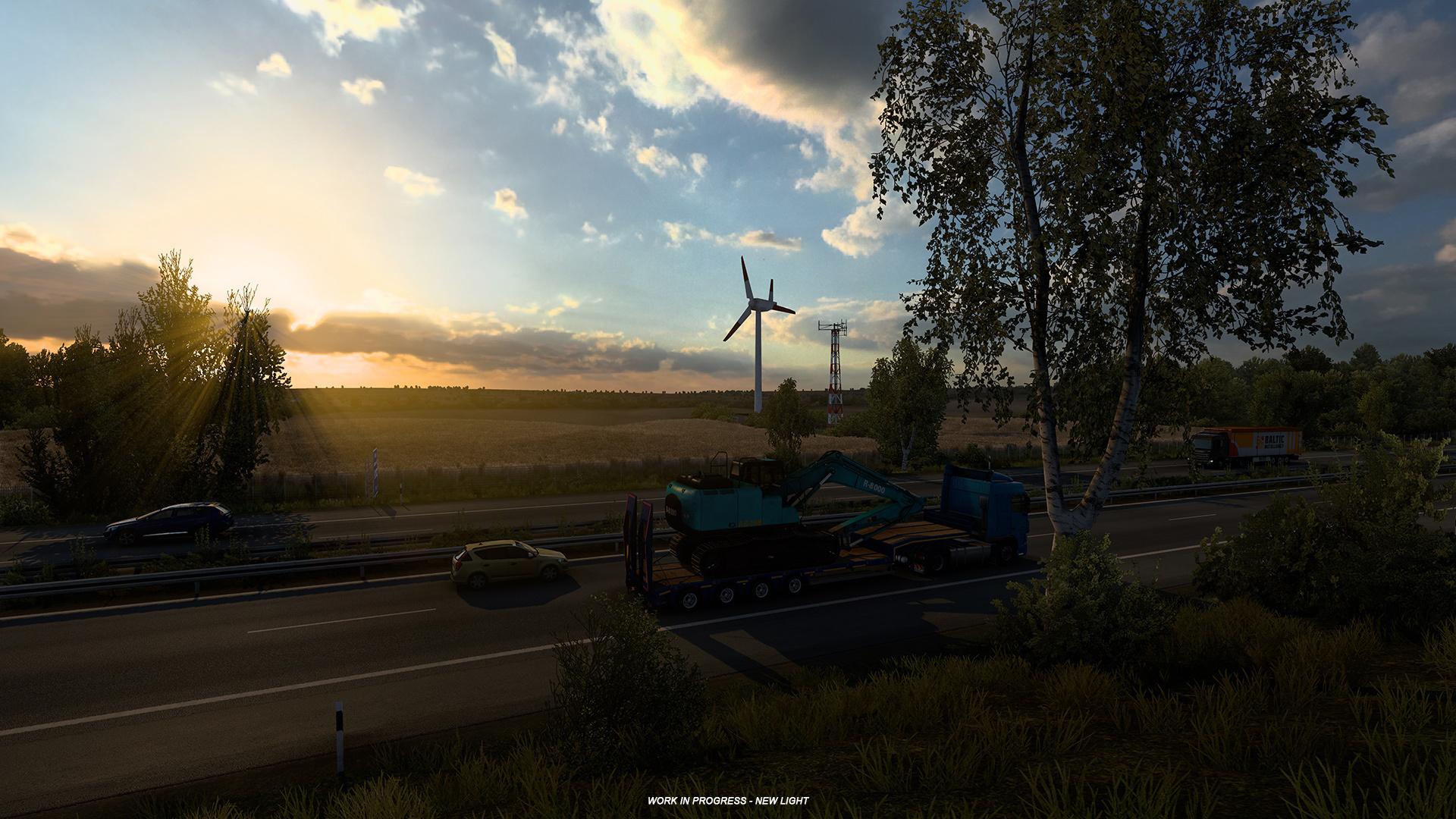 La mise à jour 1.40 la plus incroyable sur Euro Truck Simulator 2