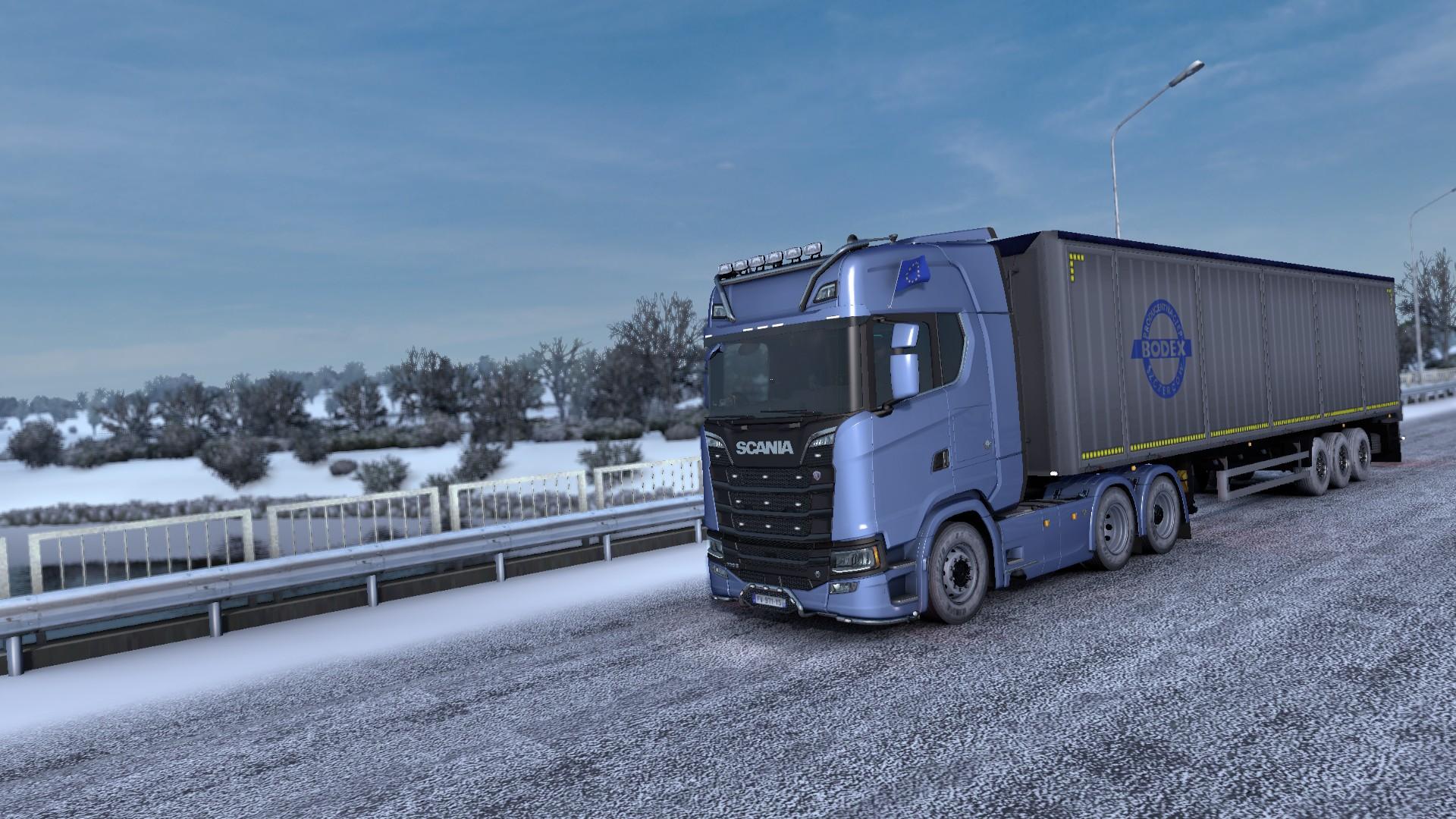 Battle des camions sur Euro Truck Simulator 2