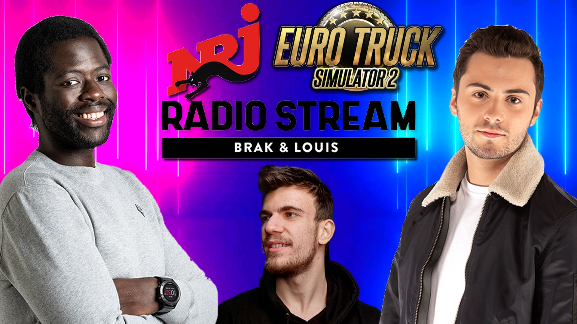 MColo parle de Euro Truck sur NRJ