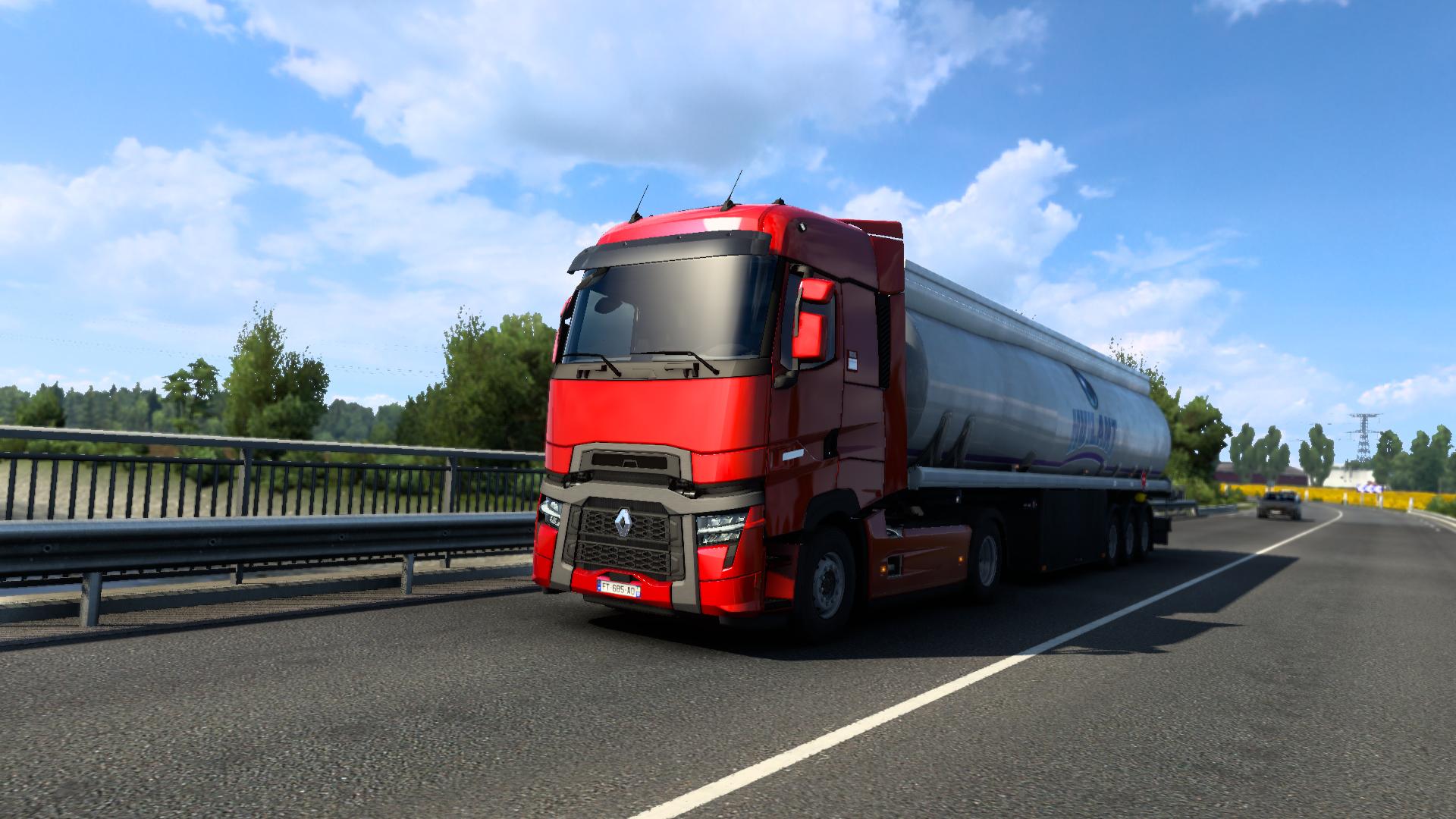 Les mods que j'utilise sur Euro Truck Simulator 2