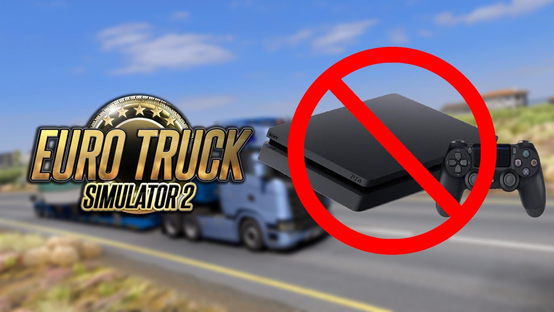 Euro Truck Simulator 2 sur PS4 ?