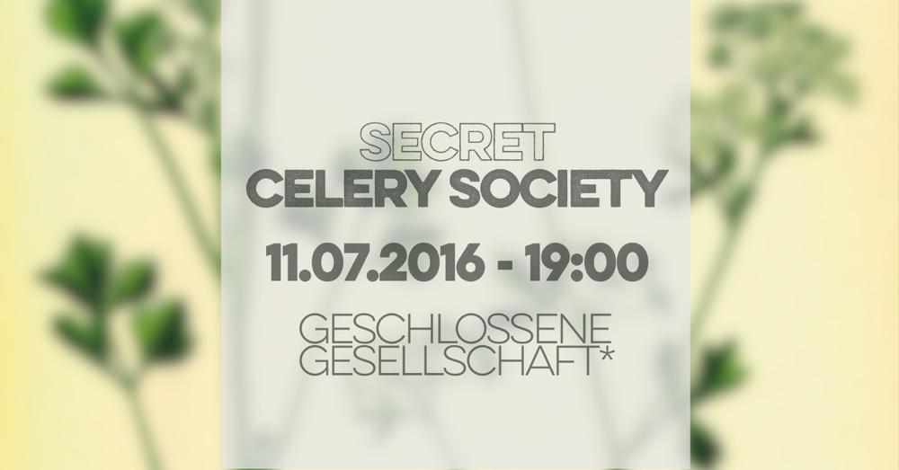 Secret Celery Society - Gin-Tasting mit Rutte & ZN