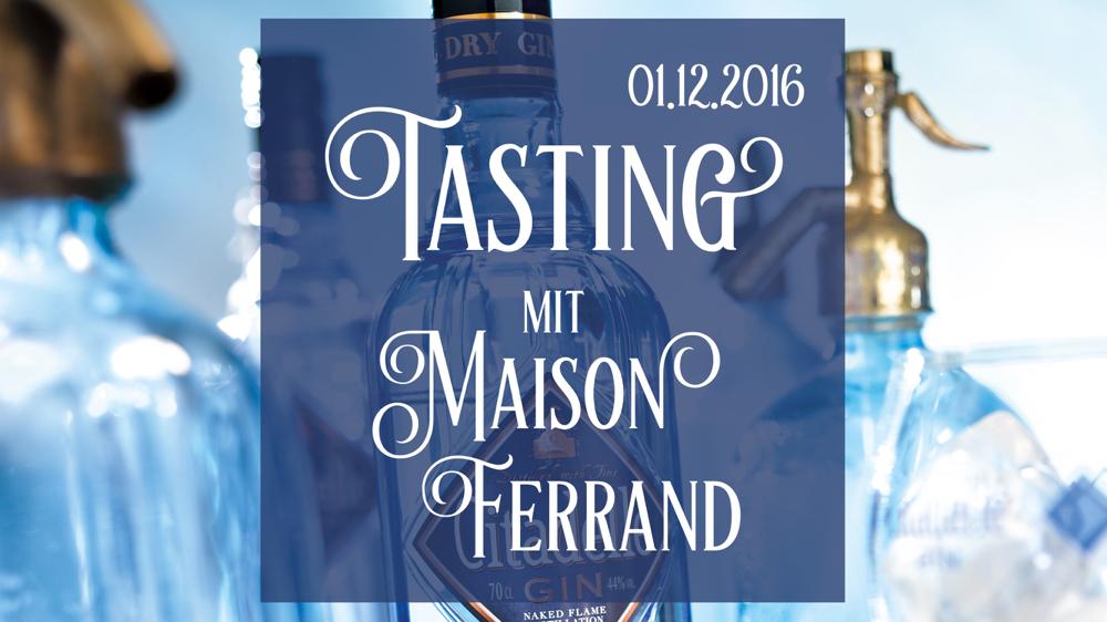 Tasting mit Maison Ferrand