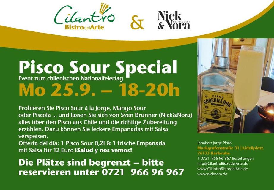Pisco Sour Special