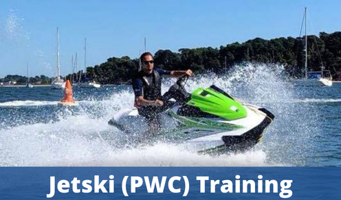RYA Jetski Training - RYA PWC Proficiency Course, RYA Jetski Licence, Jetski Adventure Cruising Course, Water safety jetski rescue operator (RWC) course