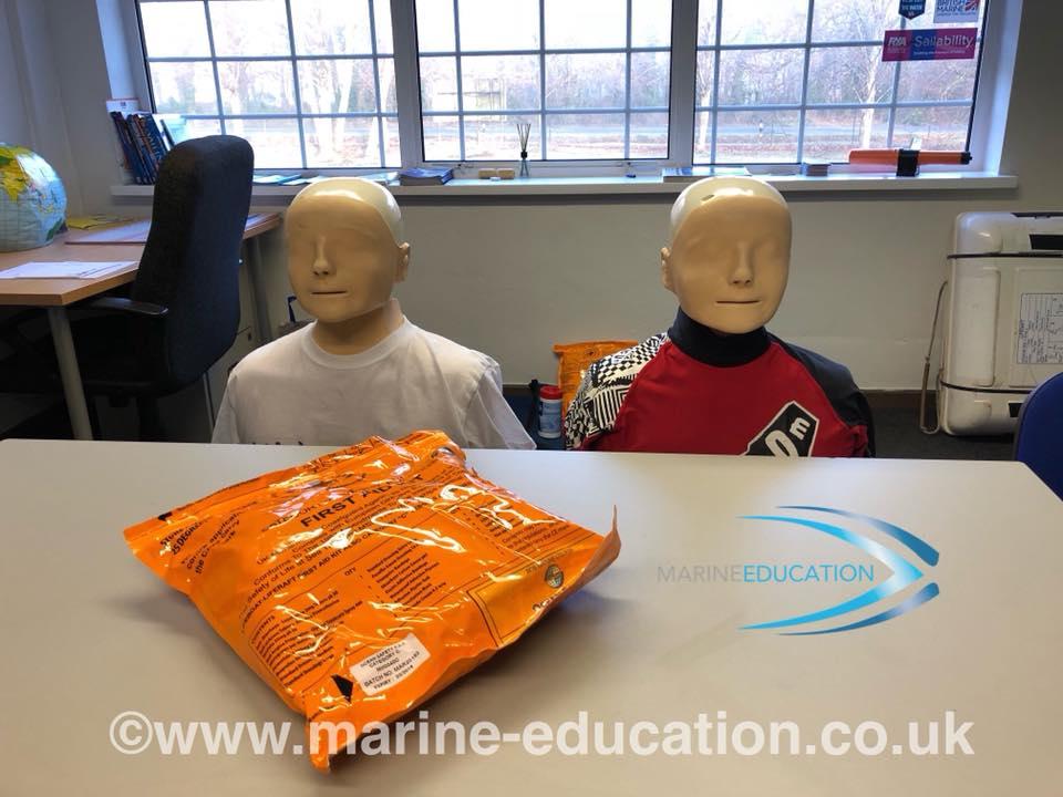 RYA First Aid Course Poole Dorset