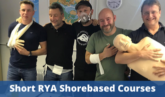 RYA Shorebased Courses - RYA First Aid, RYA VHF Marine Radio